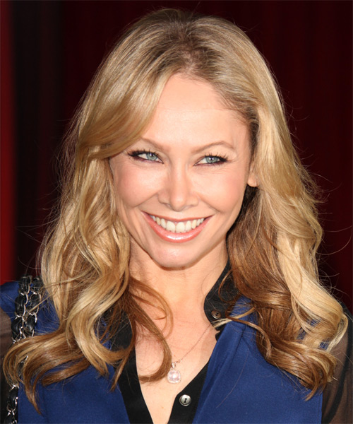 Kym Johnson Long Wavy Hairstyle - Medium Blonde (Golden)