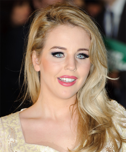 Lydia Bright  Long Straight Hairstyle - Medium Blonde (Ash)