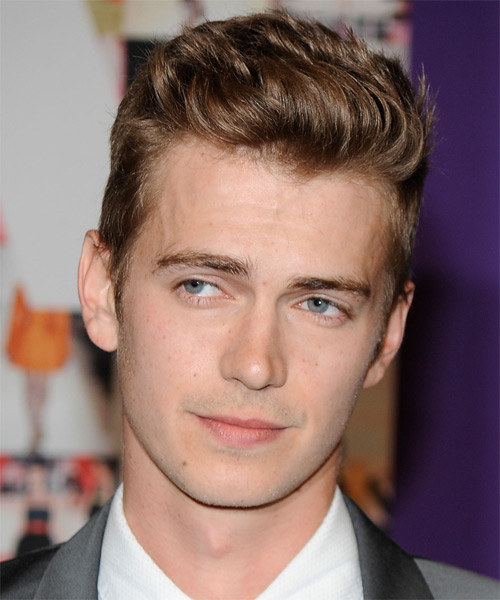 Hayden Christensen Short Straight Hairstyle - Medium Brunette