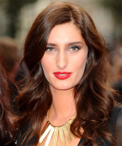 Jessica Knappet  - Formal Long Wavy Hairstyle
