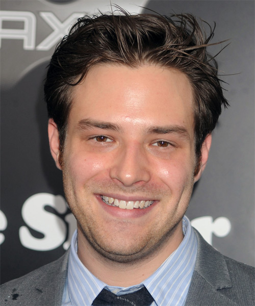 Ben Rappaport  Short Straight Hairstyle - Dark Brunette