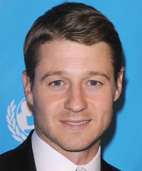Benjamin McKenzie Short Straight Hairstyle - Dark Brunette (Ash)