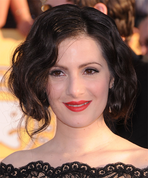 Aleksa Palladino - Casual Short Wavy Hairstyle