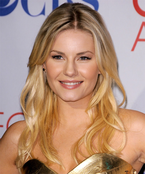 Elisha Cuthbert Long Straight Hairstyle - Medium Blonde (Golden)