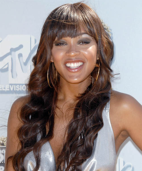 Meagan Good - Casual Long Wavy Hairstyle