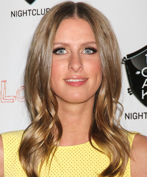 Nicky Hilton Long Straight Hairstyle - Light Brunette