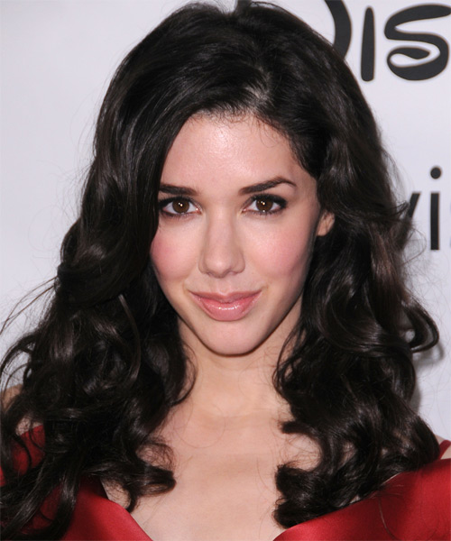 Erica Dasher Medium Wavy Hairstyle - Black