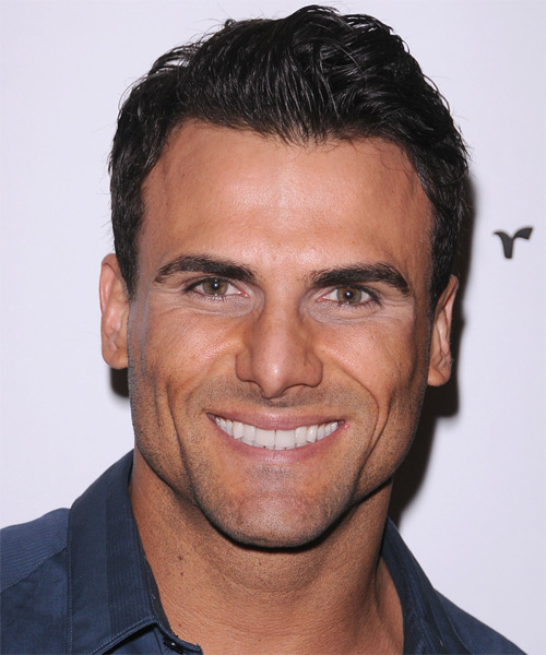 Jeremy Jackson Short Straight Hairstyle - Dark Brunette