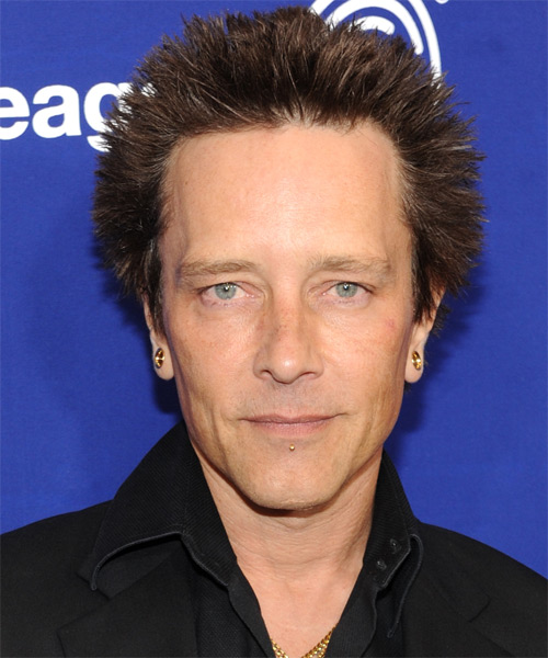 Billy Morrison Short Straight Hairstyle - Medium Brunette