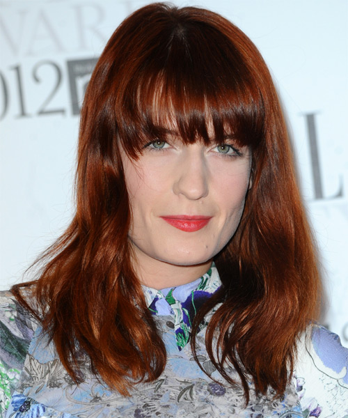 Florence Welch - Casual Long Straight Hairstyle