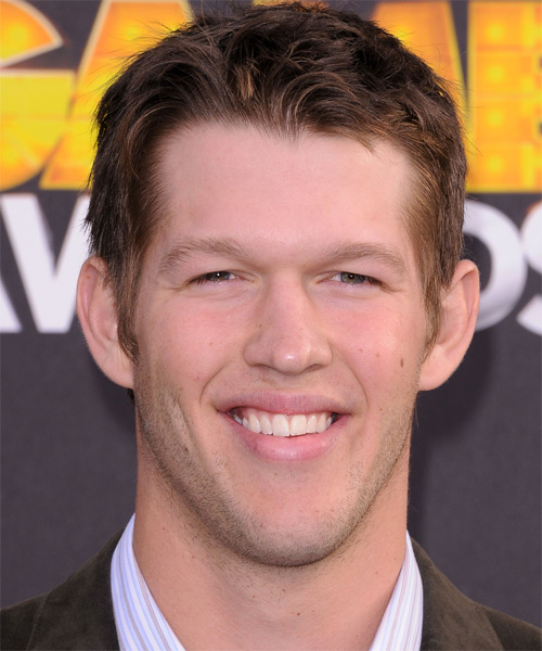 Clayton Kershaw - Casual Short Straight Hairstyle