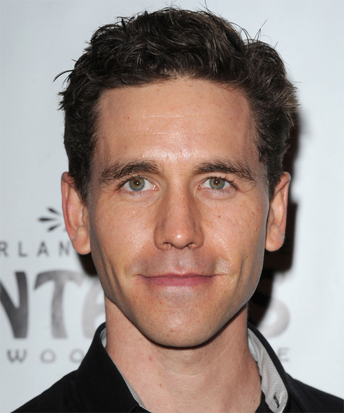 Brian Dietzen Short Wavy Hairstyle - Medium Brunette