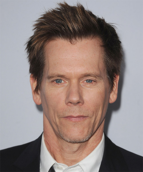 Kevin Bacon - Casual Short Straight Hairstyle