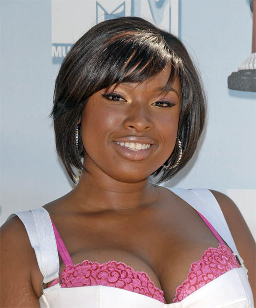 Jennifer Hudson - Casual Medium Straight Hairstyle