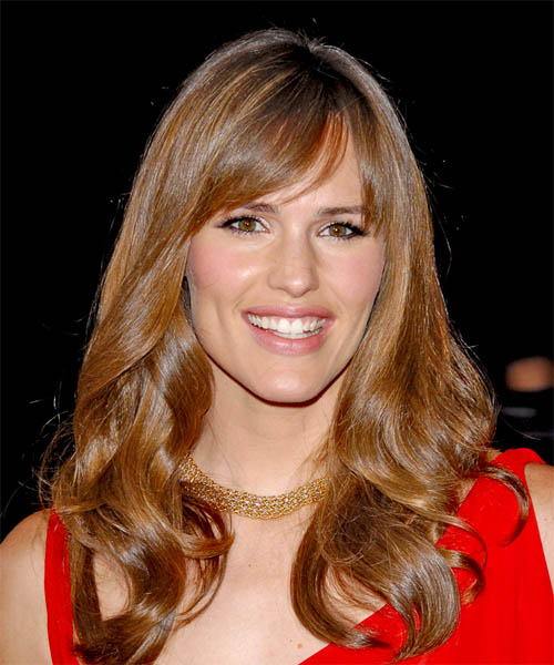 Jennifer Garner Long Wavy Formal Hairstyle