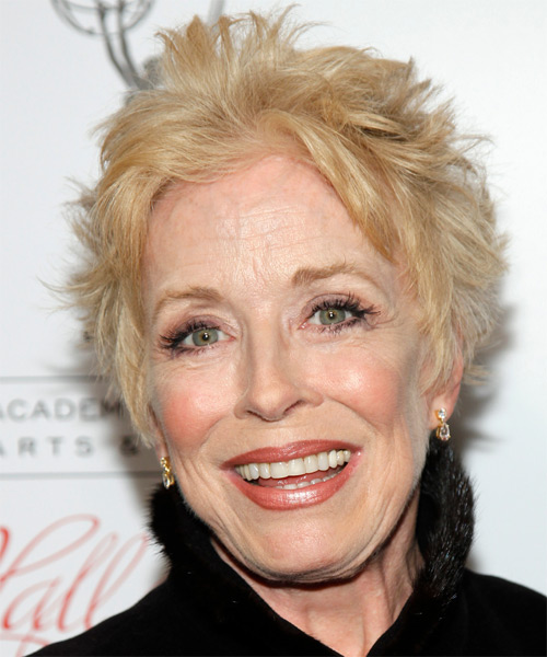 Holland Taylor Short Straight Hairstyle - Light Blonde (Golden)