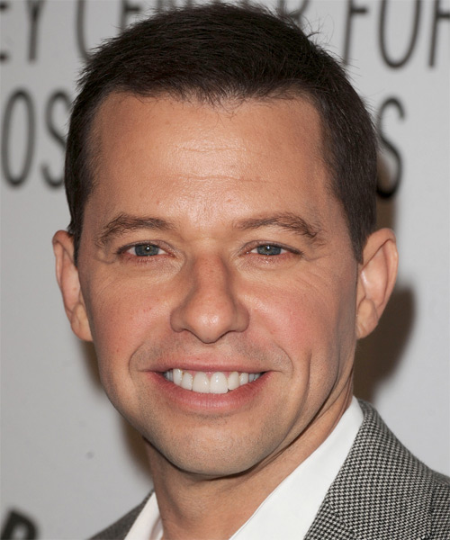 Jon Cryer  Short Straight Formal Hairstyle - Medium Brunette Hair Color
