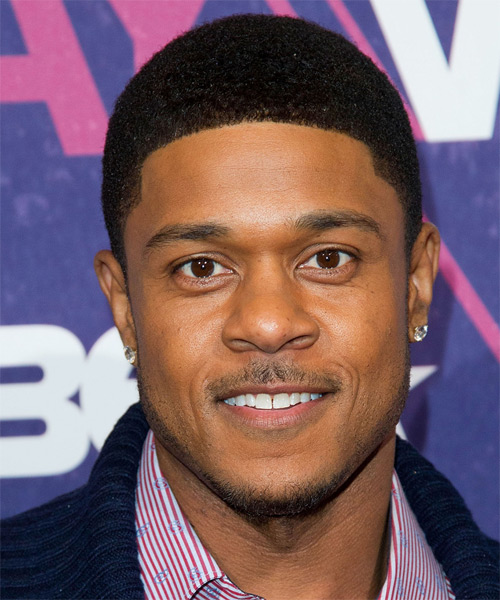 Pooch Hall Short Curly Hairstyle - Black
