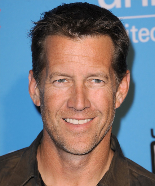 James Denton Short Straight Hairstyle - Medium Brunette