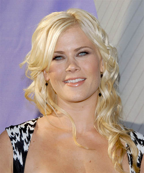 Alison Sweeney Long Wavy Formal Hairstyle