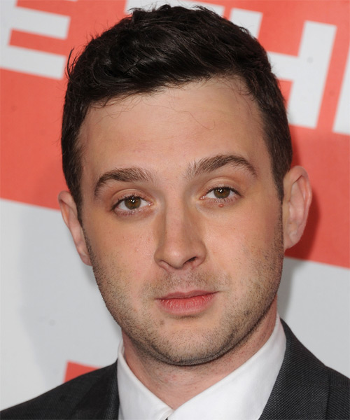 Eddie Kaye Thomas Short Straight Formal Hairstyle - Dark Brunette Hair Color