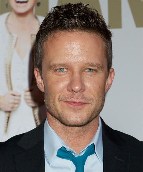 Will Chase Short Wavy Hairstyle