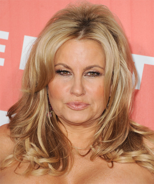 Jennifer Coolidge Long Straight Formal Hairstyle - Medium Blonde (Golden) Hair Color