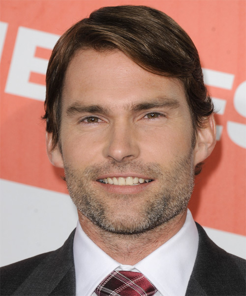Seann William Scott Short Straight Formal Hairstyle - Medium Brunette Hair Color