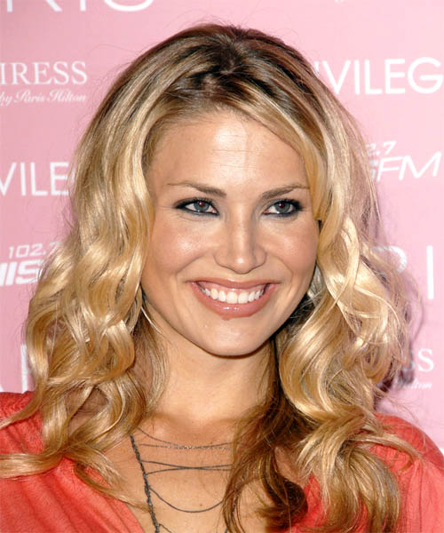 Willa Ford Long Curly Formal Hairstyle
