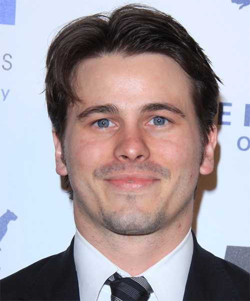 Jason Ritter Short Straight Hairstyle - Dark Brunette