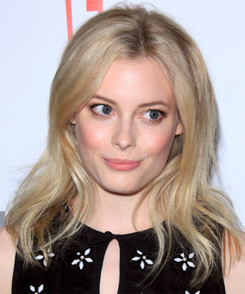 Gillian Jacobs Long Straight Casual  - Light Blonde (Ash)