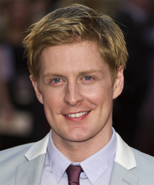 Gerard McCarthy Short Straight Casual Hairstyle - Dark Blonde Hair Color