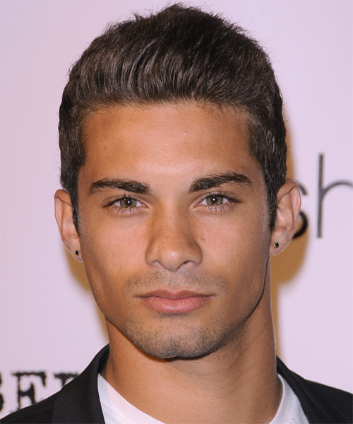 Hector David Jr - Casual Short Straight Hairstyle