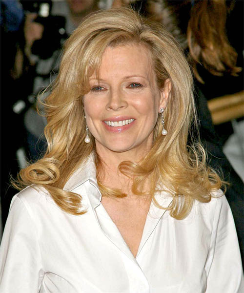 Kim Basinger - Formal Long Wavy Hairstyle