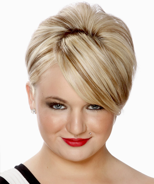 Short Straight Formal Wedding - Light Blonde (Platinum)