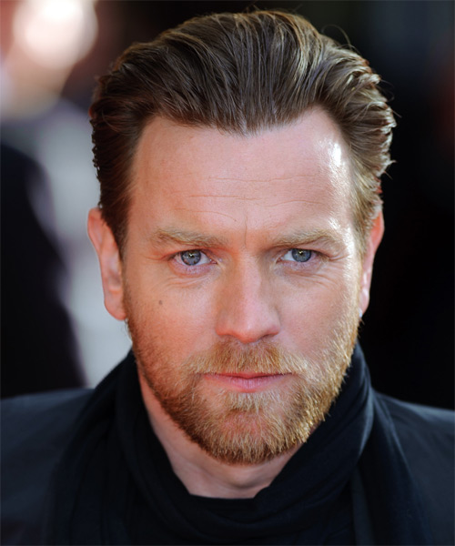 Ewan McGregor Short Straight Hairstyle - Dark Blonde