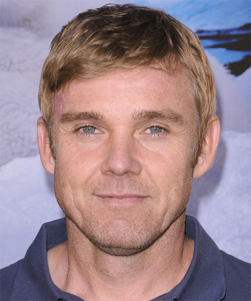 Rick Schroder Short Straight Hairstyle - Dark Blonde