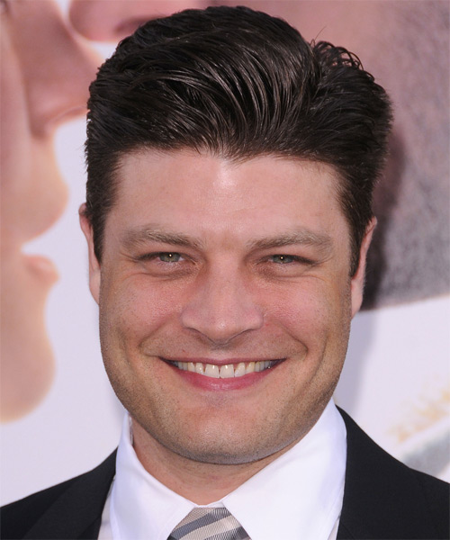Jay R. Ferguson Short Straight Hairstyle - Dark Brunette