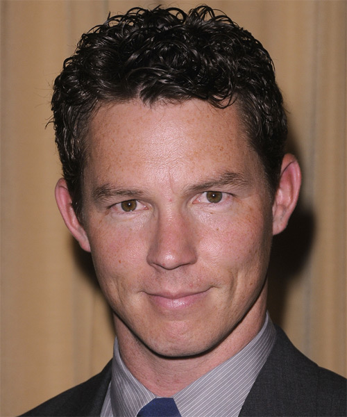 Shawn Hatosy - Casual Short Curly Hairstyle