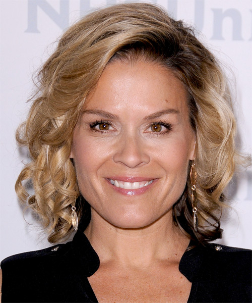 Cat Cora - Formal Medium Wavy Hairstyle