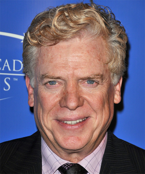 Christopher McDonald Short Wavy Casual Hairstyle - Light Blonde (Grey) Hair Color