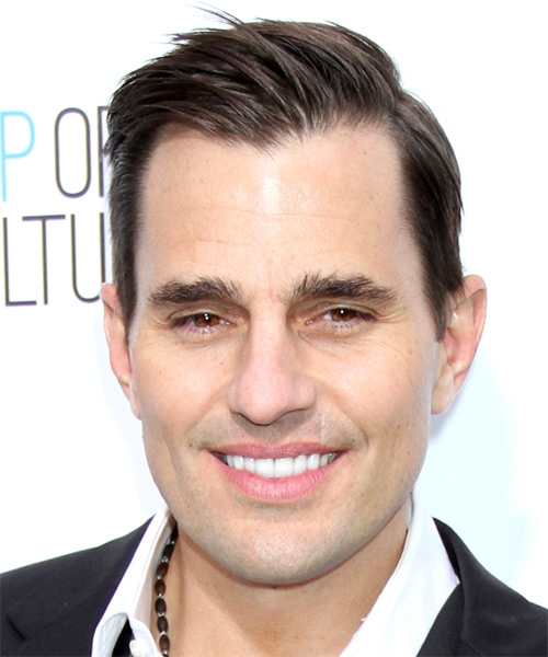 Bill Rancic Short Straight Hairstyle - Dark Brunette