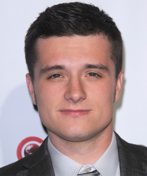 Josh Hutcherson - Formal Short Straight Hairstyle