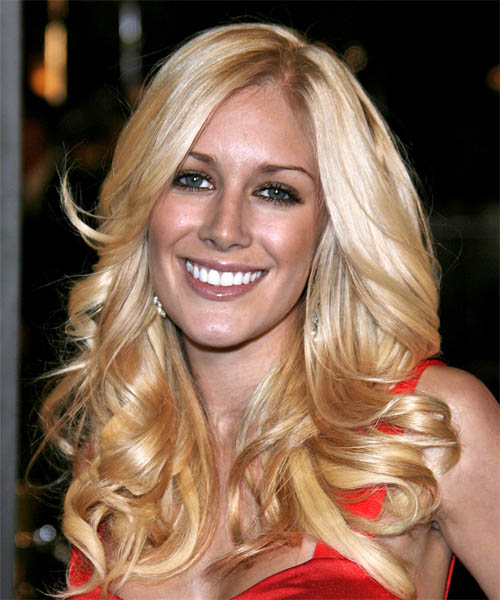 Heidi Montag Long Wavy Formal Hairstyle
