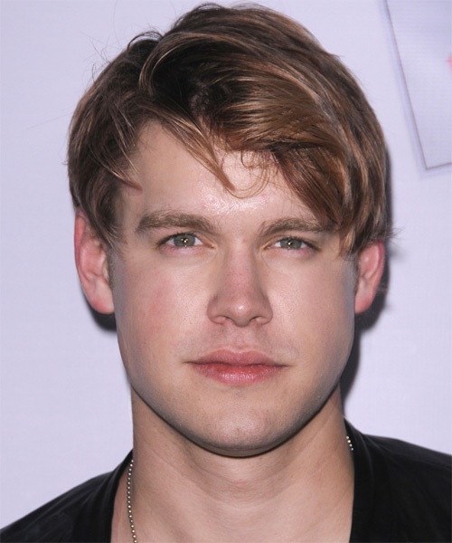 Chord Overstreet Short Straight Casual Hairstyle - Light Brunette