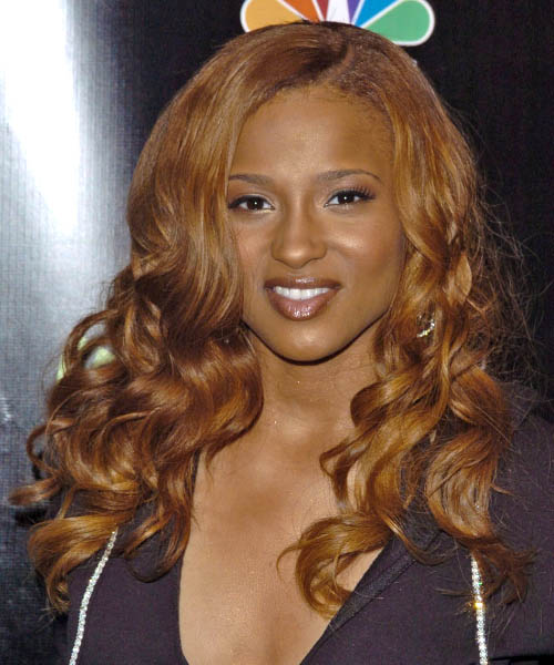 Ciara Long Curly Hairstyle