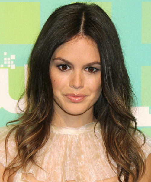 Rachel Bilson Long Straight Hairstyle - Medium Brunette (Caramel)