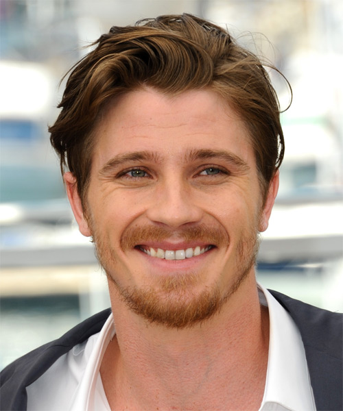 Garret Hedlund Short Straight Hairstyle - Medium Brunette