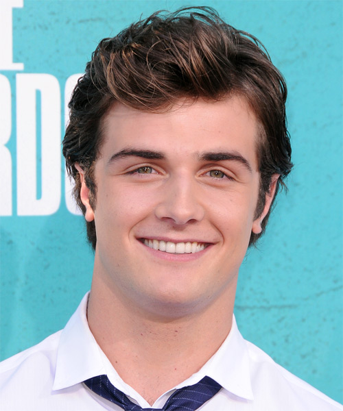 Beau Mirchoff Medium Straight Hairstyle - Medium Brunette