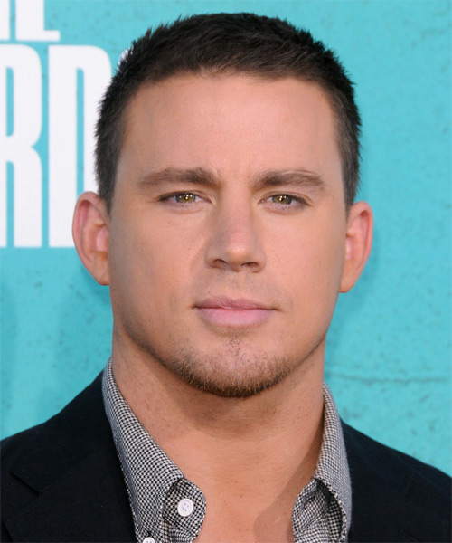 Channing Tatum Short Straight Casual Hairstyle